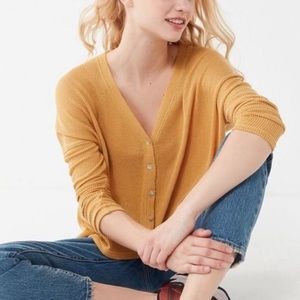 Urban outfitter waffle cardigan